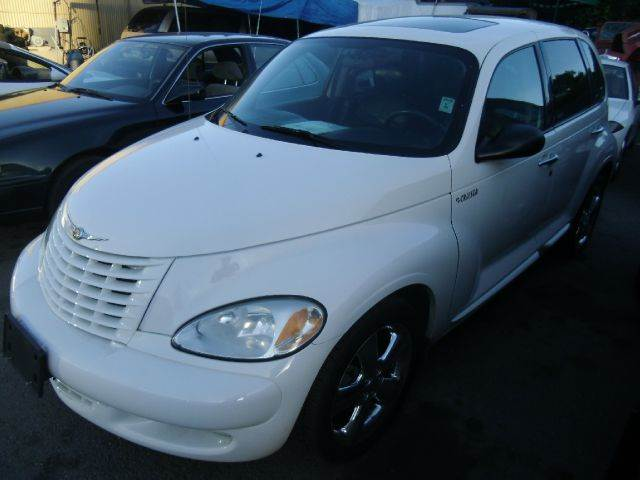2003 CHRYSLER PT CRUISER GT white abs brakesair conditioningalloy wheelsamfm radioanti-brake