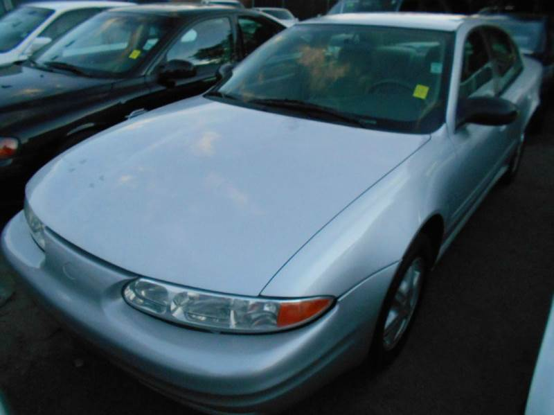 2004 OLDSMOBILE ALERO GL1 4DR SEDAN silver center console clock cruise control daytime running
