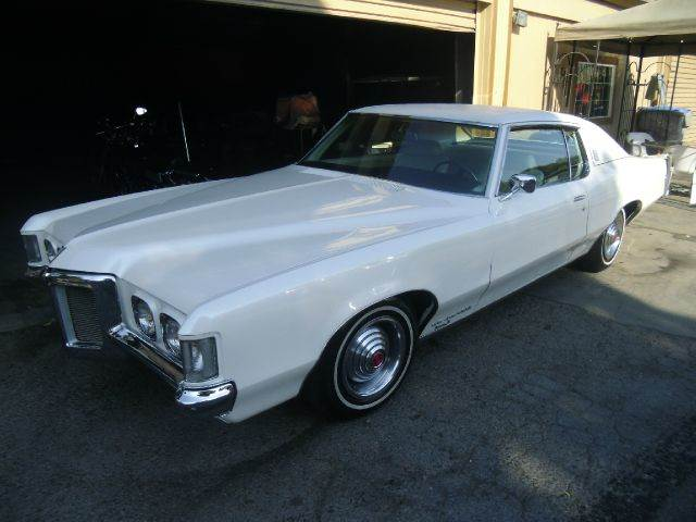1969 PONTIAC GRAND PRIX white air conditioning alloy wheels 0 miles VIN XXXXXXXXXXXXX1969