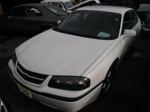 2004 CHEVROLET IMPALA LS white 120422 miles VIN 2G1WH52F949182888
