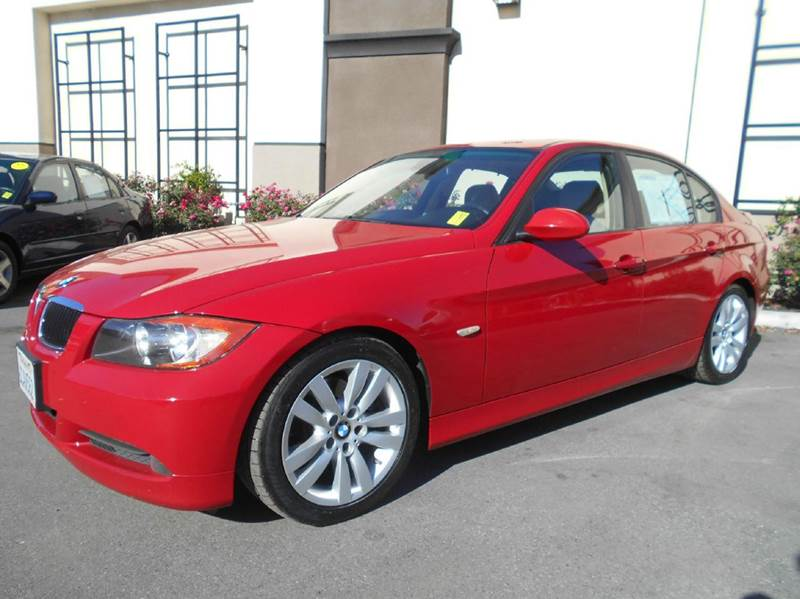 2007 BMW 3 SERIES 328I 4DR SEDAN red 2-stage unlocking doors abs - 4-wheel air filtration - act