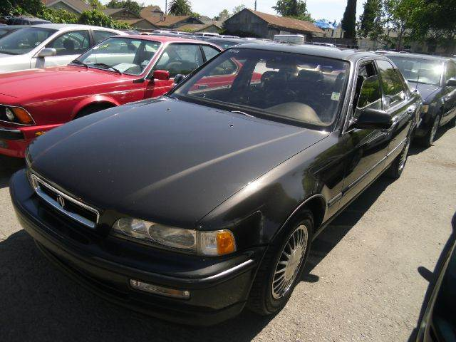 1991 ACURA LEGEND L charcoal 15 inch wheels 4-speed automatic transmission abs - 4-wheel alloy