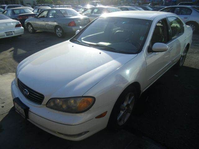 2003 INFINITI I35 4DR SEDAN white abs - 4-wheel anti-theft system - alarm cd changer center co