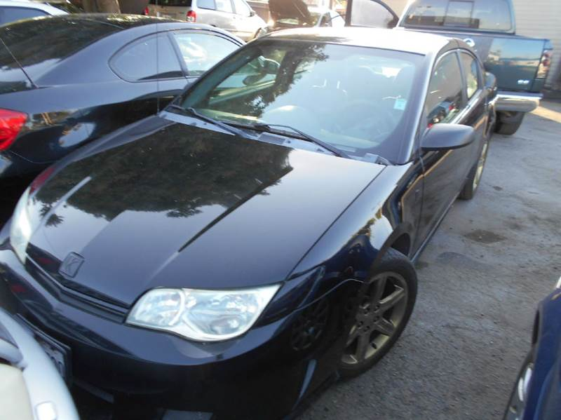 2004 SATURN ION RED LINE BASE 4DR SUPERCHARGED COUPE black abs - 4-wheel anti-theft system - ala