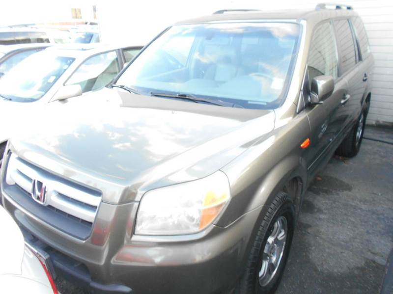 2006 HONDA PILOT EX-L 4DR SUV green abs - 4-wheel air filtration airbag deactivation - occupant