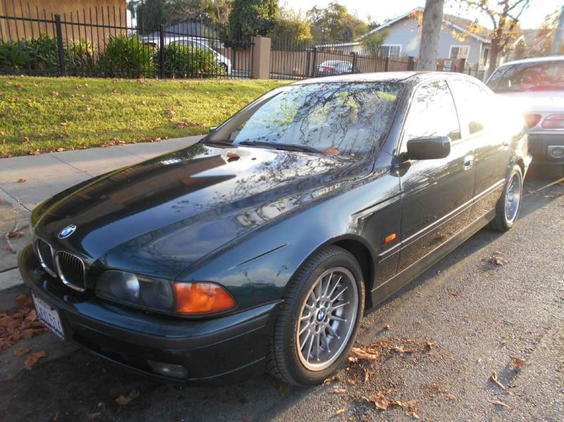 2000 BMW 5 SERIES 540I 4DR SEDAN green abs - 4-wheel anti-theft system - alarm cassette center