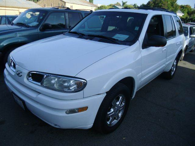 2002 OLDSMOBILE BRAVADA AWD white 4wdawdabs brakesair conditioningalloy wheelsamfm radioan