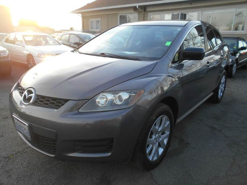2007 MAZDA CX-7 SPORT 4DR SUV gray 2-stage unlocking doors abs - 4-wheel air filtration airbag