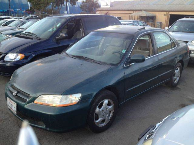 1998 HONDA ACCORD EX 4DR SEDAN green abs - 4-wheel anti-theft system - alarm center console cl