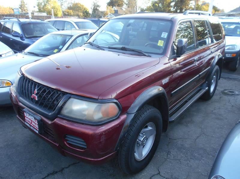 2001 MITSUBISHI MONTERO SPORT ES 2WD 4DR SUV red anti-theft system - alarm axle ratio - 464 ce