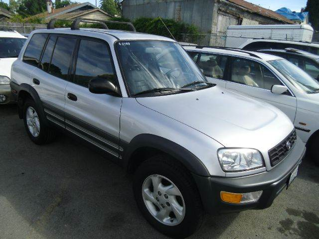 1998 TOYOTA RAV4 AWD 4DR STD SUV silver 16 inch wheels front airbags - dual front seat type - bu