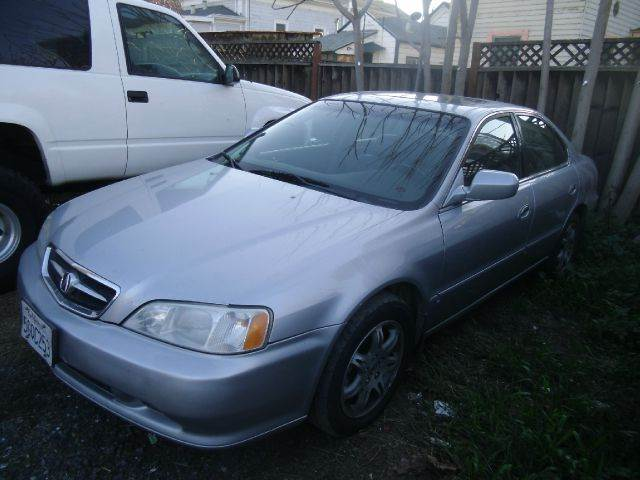 2001 ACURA TL 32 4DR SEDAN silver abs - 4-wheel anti-theft system - alarm cassette center con