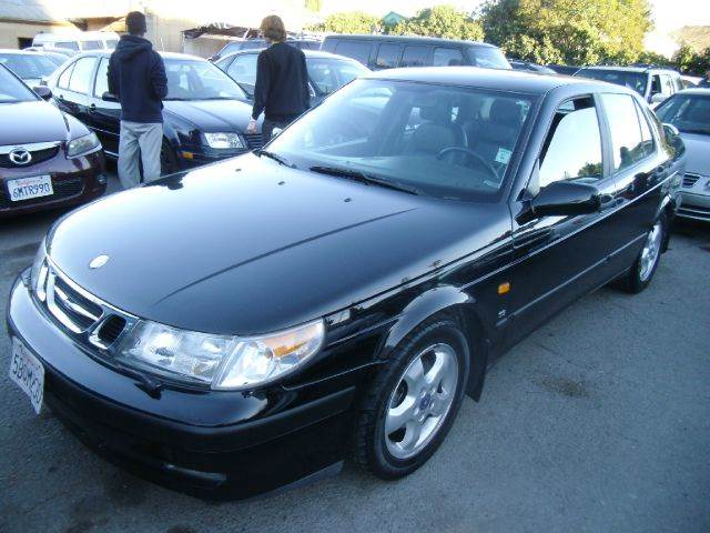 1999 SAAB 9-5 SE 23T 4DR TURBO SEDAN black abs - 4-wheel anti-theft system - alarm cassette c