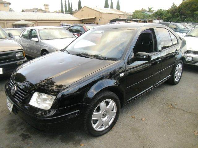 2001 VOLKSWAGEN JETTA GLS VR6 4DR SEDAN black abs - 4-wheel anti-theft system - alarm cassette