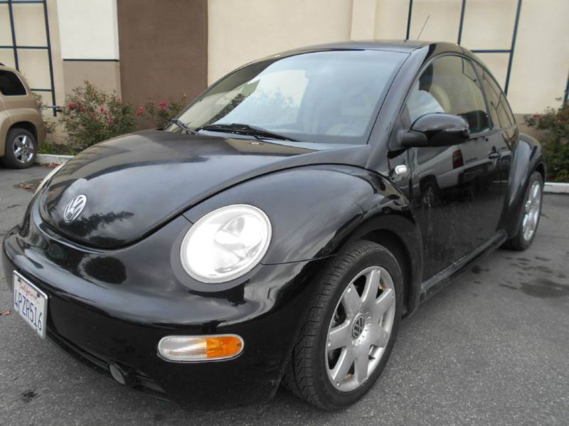 2001 VOLKSWAGEN NEW BEETLE GLX 18T 2DR TURBO HATCHBACK black abs - 4-wheel anti-theft system -