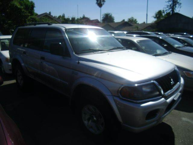 2002 MITSUBISHI MONTERO SPORT XLS 4WD 4DR SUV silver abs - 4-wheel anti-theft system - alarm ax