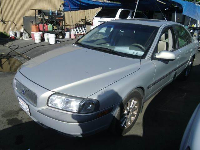 1999 VOLVO S80 silver 0 miles VIN YV1TS9TD1X1061778