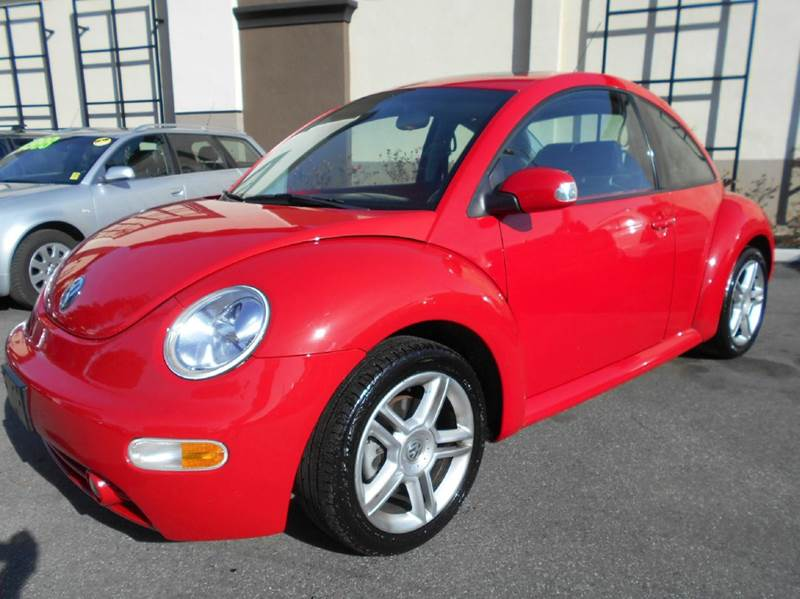 2005 VOLKSWAGEN NEW BEETLE GLS 18T 2DR TURBO HATCHBACK red abs - 4-wheel anti-theft system - al