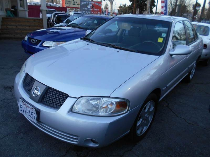 2006 NISSAN SENTRA 18 S 4DR SEDAN WAUTOMATIC silver antenna type cargo area light center cons