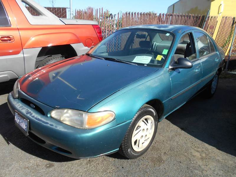 1998 FORD ESCORT LX 4DR SEDAN green front airbags - dual front seat type - bucket front wipers