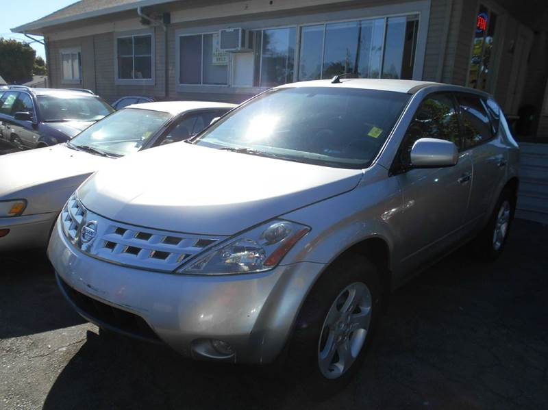2003 NISSAN MURANO SL AWD 4DR SUV silver abs - 4-wheel anti-theft system - alarm center console