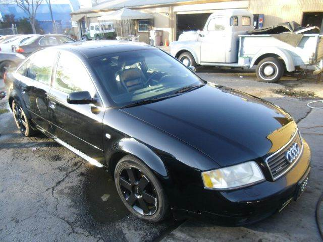 2001 AUDI A6 42 black 4wdawdabs brakesair conditioningalloy wheelsamfm radioanti-brake sy