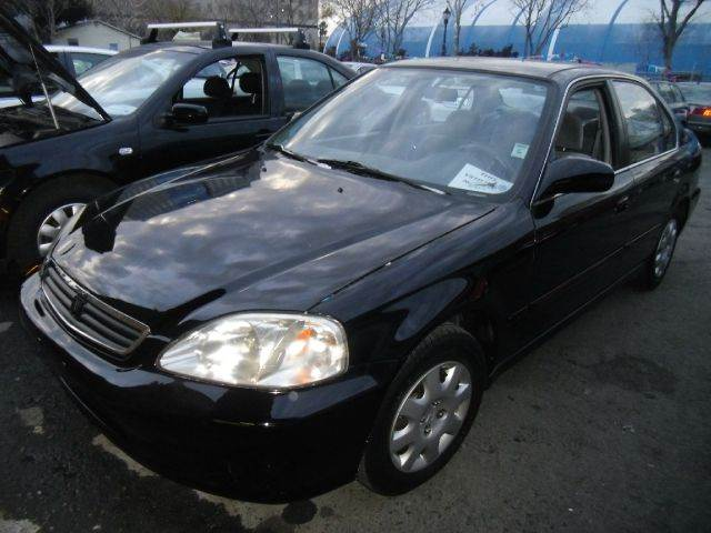 1999 HONDA CIVIC LX black 4 doorair conditioningamfm radioautomatic transmissioncd playercru