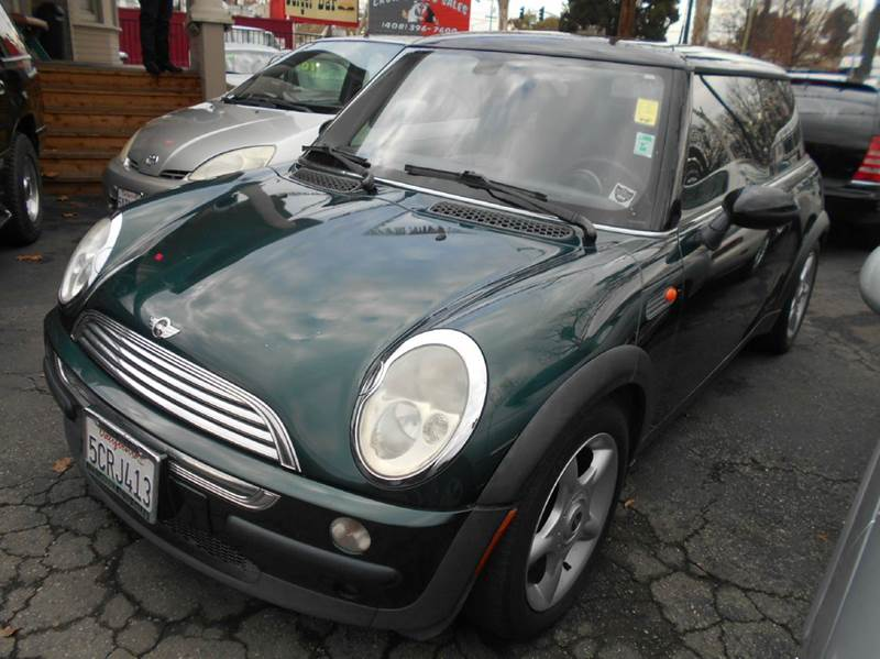 2003 MINI COOPER BASE 2DR HATCHBACK green abs - 4-wheel clock exterior entry lights front air