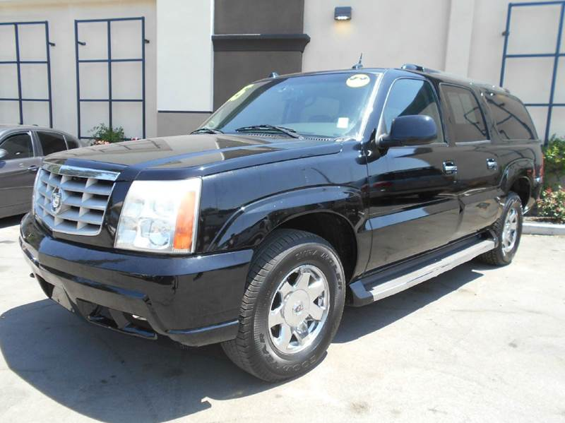 2005 CADILLAC ESCALADE ESV BASE AWD 4DR SUV black 4wd type - full time abs - 4-wheel active sus