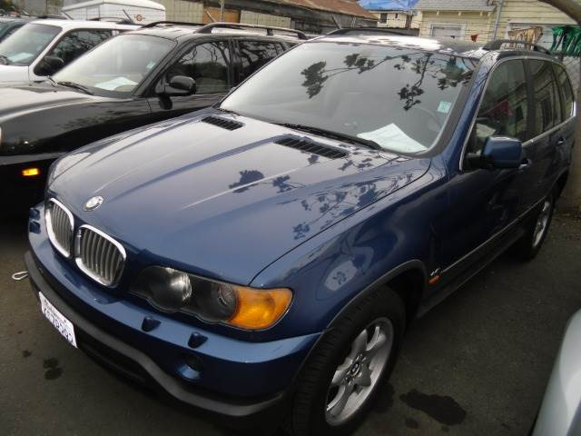 2000 BMW X5 44I blue abs - 4-wheel alloy wheels exterior mirrors - power front air conditionin