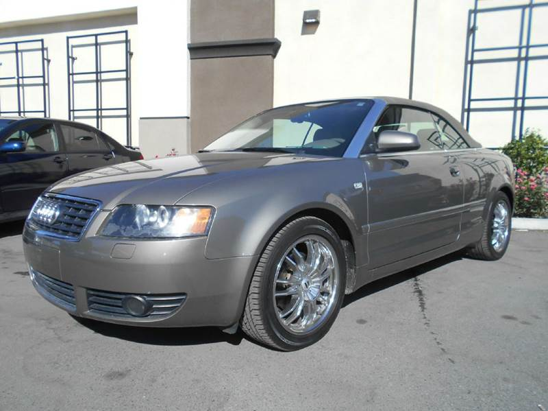 2004 AUDI A4 18T 2DR TURBO CABRIOLET gold abs - 4-wheel anti-theft system - alarm center conso