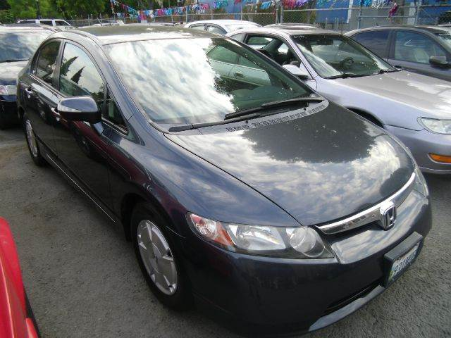 2006 HONDA CIVIC HYBRID 4DR SEDAN blue abs - 4-wheel active head restraint adjustable rear headr