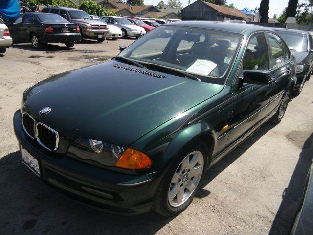 2000 BMW 3 SERIES 323I green 15 inch wheels 5-speed automatic transmission abs - 4-wheel alloy
