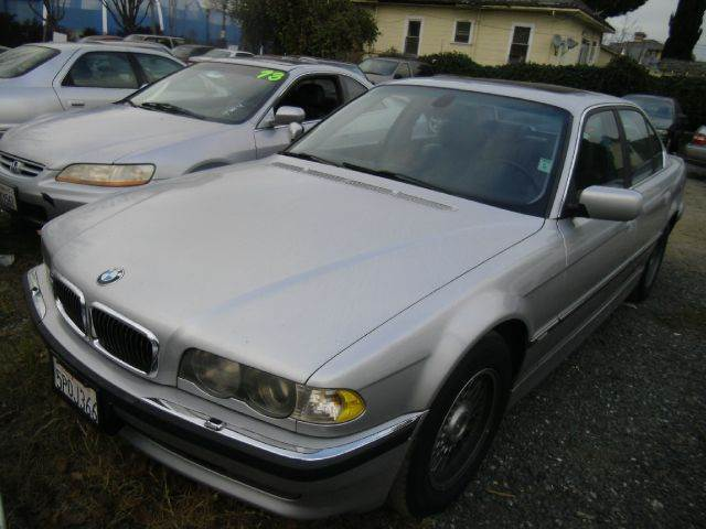 2001 BMW 7 SERIES 740I 4DR SEDAN silver abs - 4-wheel anti-theft system - alarm cassette cd cha