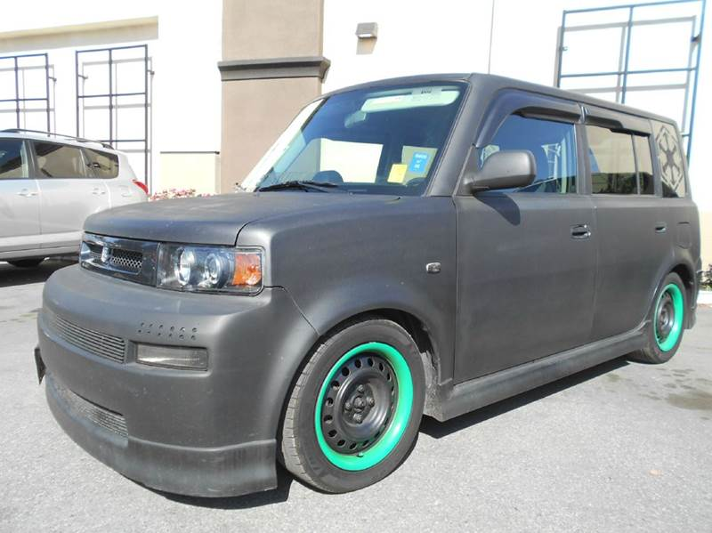 2004 SCION XB BASE 4DR WAGON black abs - 4-wheel clock front air conditioning front airbags -