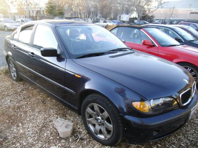 2004 BMW 3 SERIES 325I SEDAN blue abs brakesair conditioningalloy wheelsamfm radioanti-brake