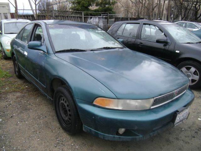 1999 MITSUBISHI GALANT ES 4DR SEDAN green cassette center console cruise control exterior mirr
