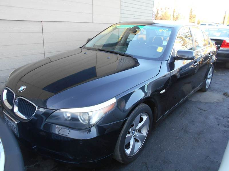 2004 BMW 5 SERIES 530I 4DR SEDAN black abs - 4-wheel anti-theft system - alarm center console
