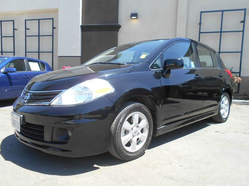2010 NISSAN VERSA 18 S 4DR HATCHBACK 4A black abs - 4-wheel active head restraints - dual front