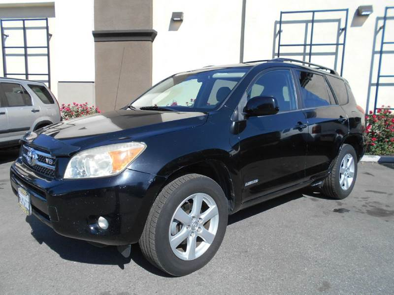 2007 TOYOTA RAV4 LIMITED 4DR SUV V6 black 2-stage unlocking doors abs - 4-wheel air filtration