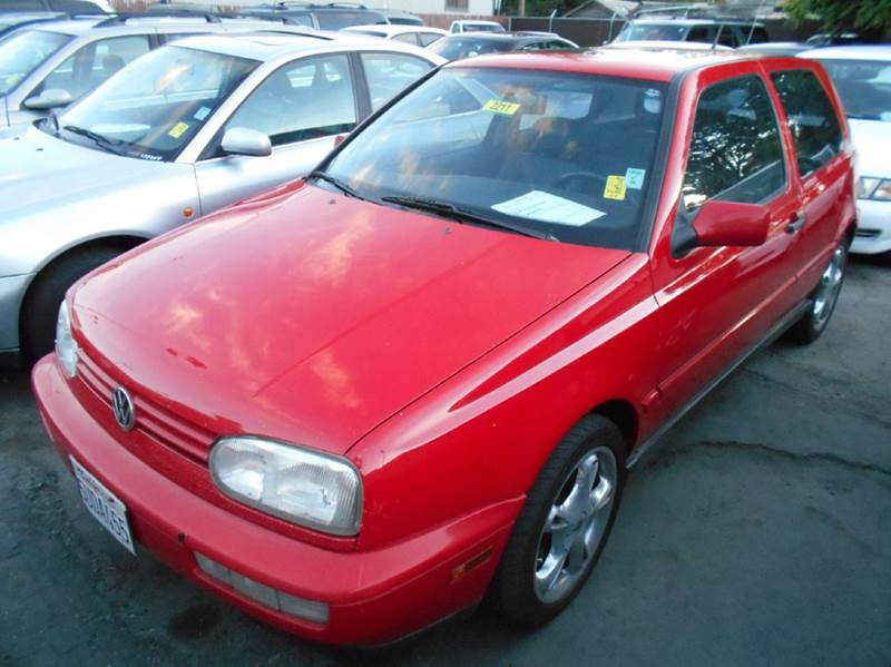 1998 VOLKSWAGEN GTI VR6 2DR HATCHBACK red abs - 4-wheel anti-theft system - alarm cassette cru