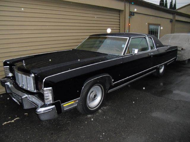 1976 LINCOLN TOWN CAR CARTIER black one owner 2 door 0 miles VIN LINCOLN1