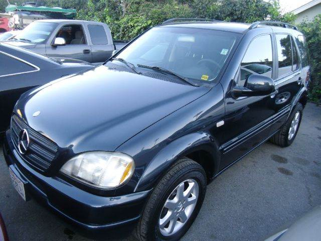 2000 MERCEDES-BENZ M-CLASS ML430 blue 4wdawdabs brakesair conditioningalloy wheelsamfm radio