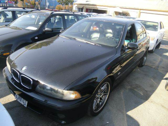 2000 BMW M5 4DR STD SEDAN black abs - 4-wheel anti-theft system - alarm cassette cd changer d