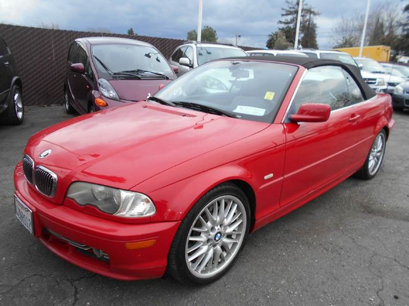 2002 BMW 3 SERIES 330CI 2DR CONVERTIBLE red 17 inch wheels abs - 4-wheel anti-theft system - al