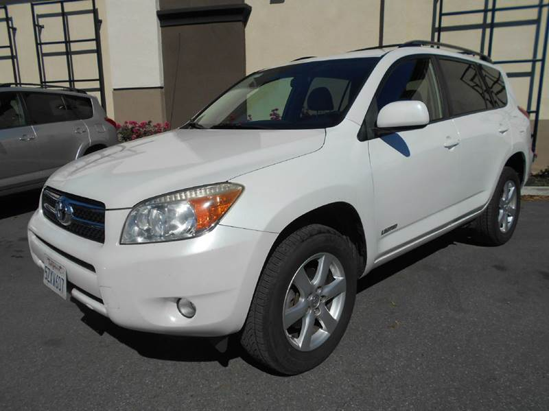 2007 TOYOTA RAV4 LIMITED 4DR SUV 4WD I4 white 2-stage unlocking doors 4wd type - on demand abs