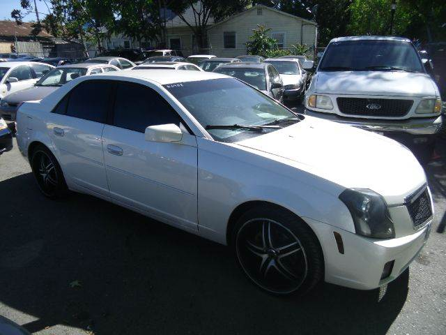 2003 CADILLAC CTS white abs - 4-wheel alloy wheels cruise control front air conditioning fron