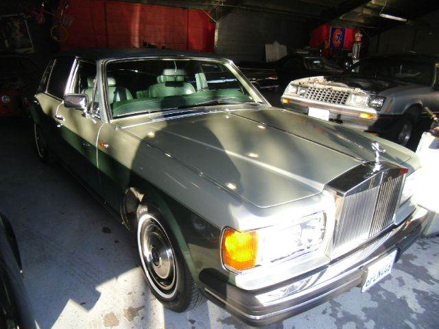 1984 ROLLS-ROYCE SILVER SPUR silver 4 doorair conditioningamfm radioautomatic transmissioncd