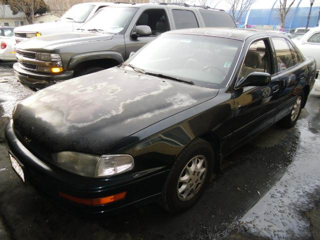 1994 TOYOTA CAMRY XLE green air conditioningalloy wheelsanti-brake system non-abs  4-wheel ab