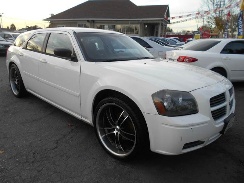 2007 DODGE MAGNUM SXT 4DR WAGON white 2-stage unlocking doors abs - 4-wheel airbag deactivation